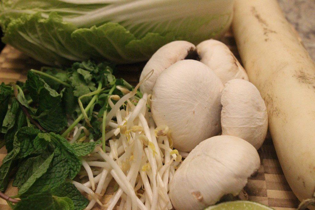 Stress free Asian soup to detox your body