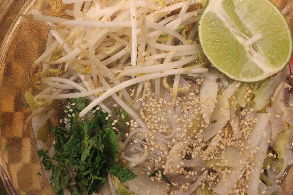 Stress free detoxified asian soup