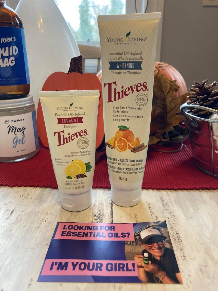 Young Living Toothpaste and Deodorant