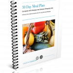 30 day meal plan graphic