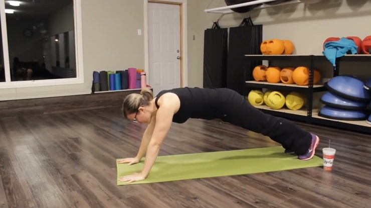 Forearms to Planks 20 Minute Low Impact Workout