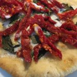 Dairy free sundried tomato basil pizza recipe