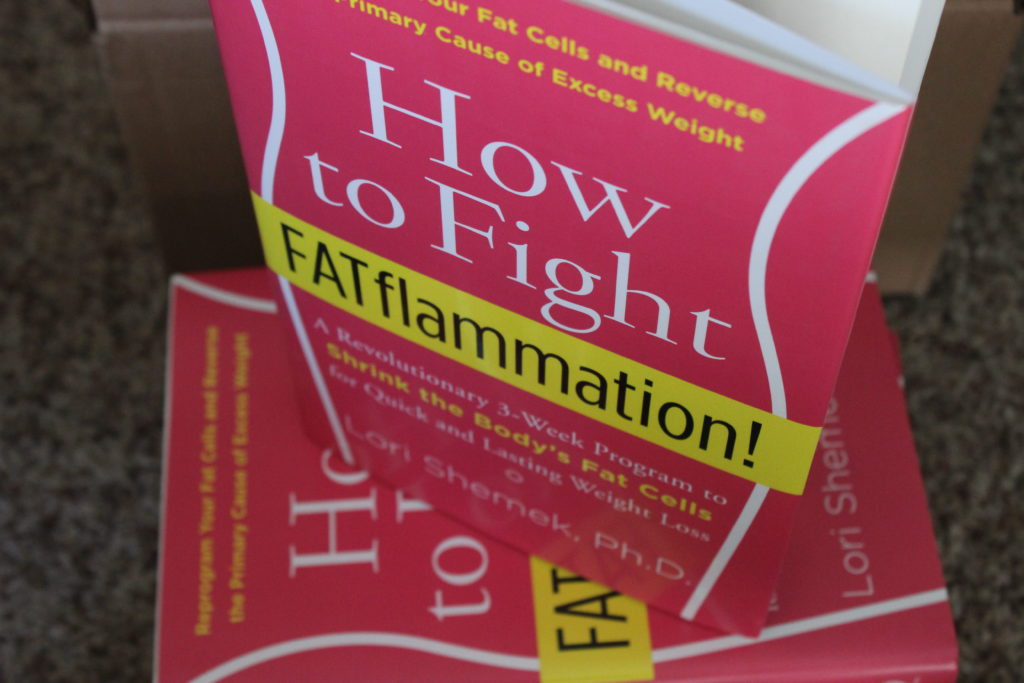 How to Fight Fat Flammation Book Giveaway