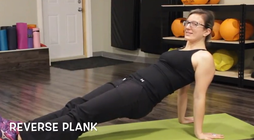 Reverse Plank 15-Minute Full Body Burn Workout