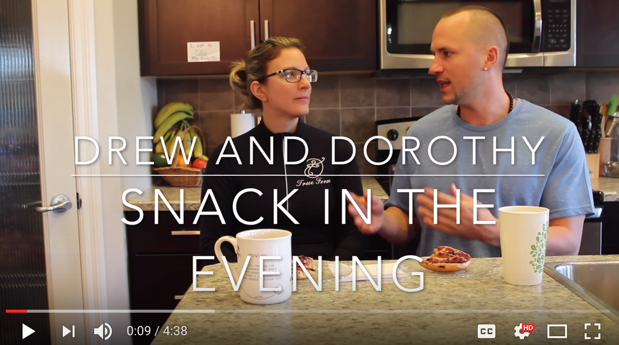 why you should snack in the evening