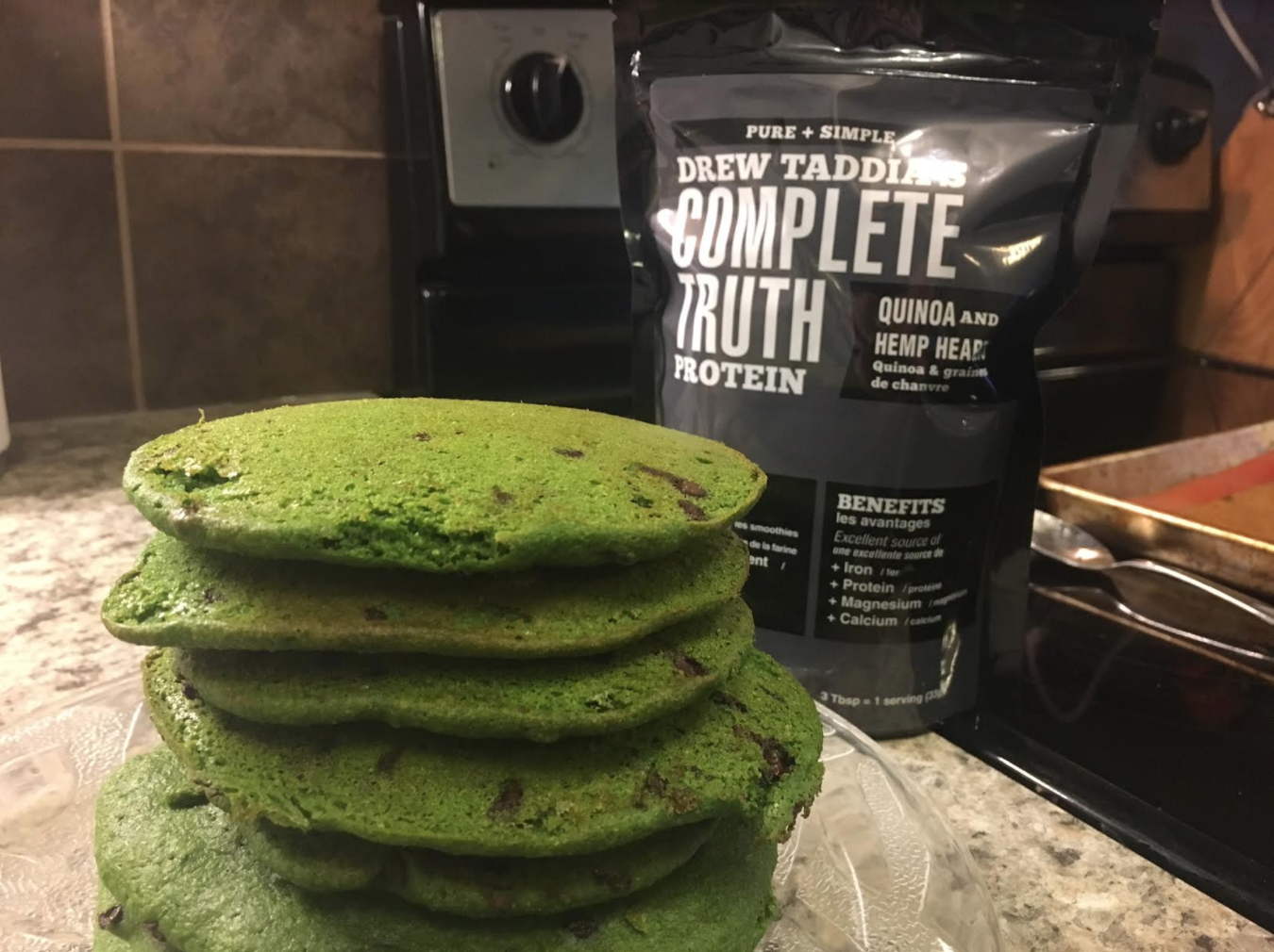 Emerald Pancakes