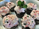 Chocolate Candy Cane Cupcakes (Gluten Free)