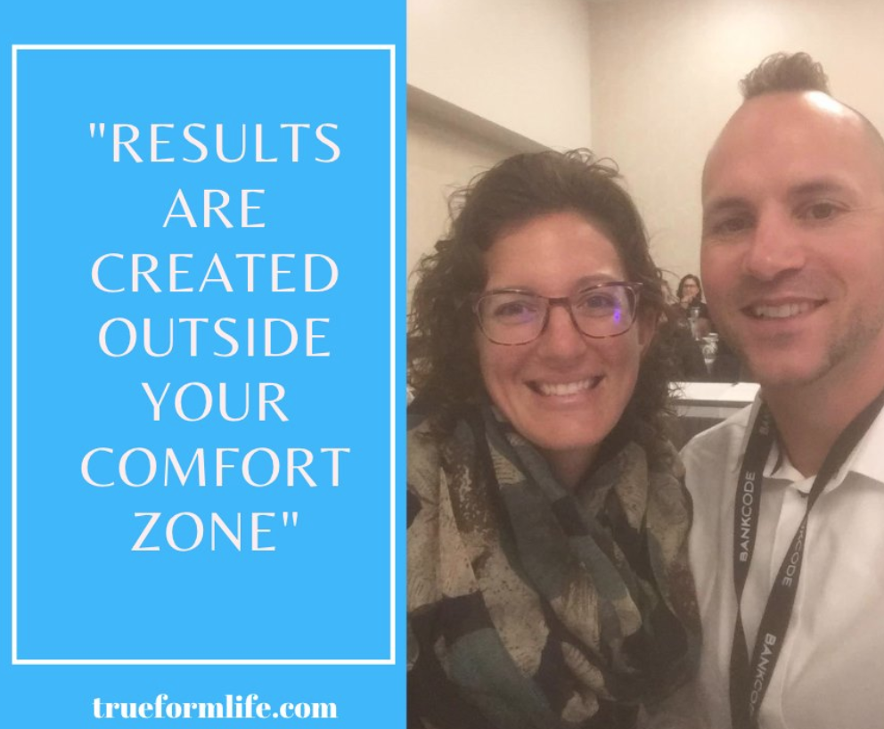 Stepping Outside your Comfort Zone