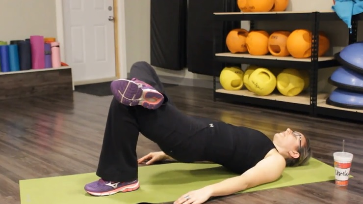 Single Leg Hip Raises 20 Minute Low Impact Workout