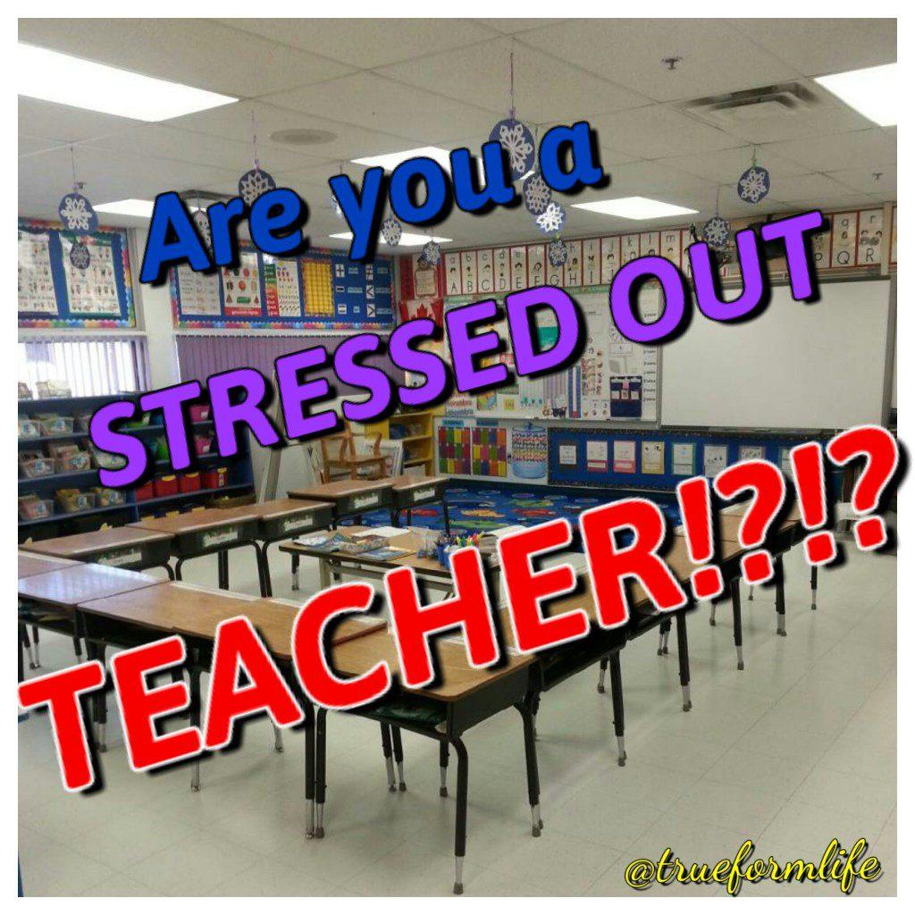reduce stress for teachers