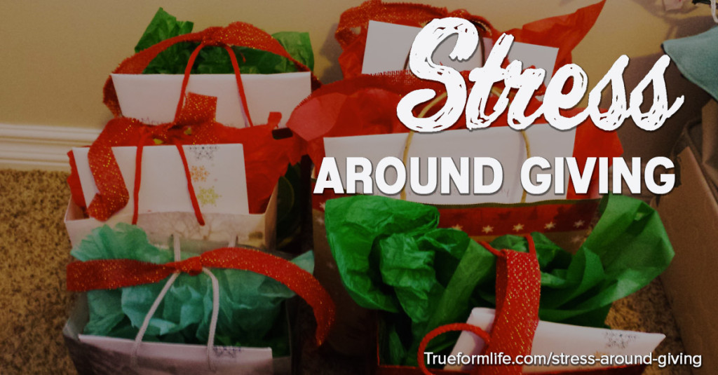 stress around giving